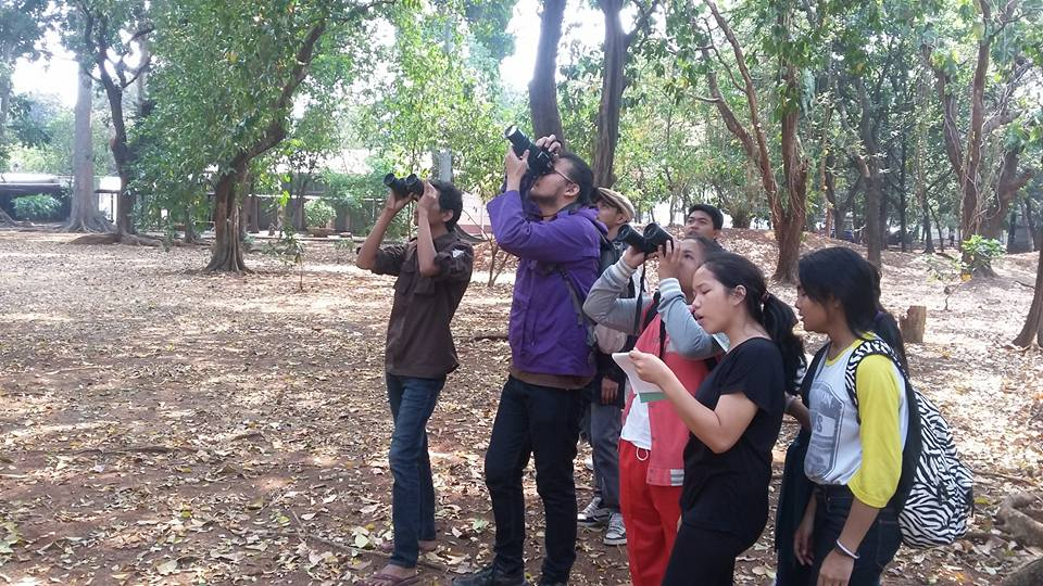Capture Nature activity at Krida Loka City Forest, Senayan, Jakarta. (Photo source: Ahmad Baihaqi)