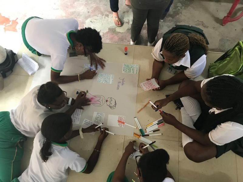 While GirlSPARKS is currently working mostly in Africa, the team is planning to work together with development practitioner in Asia region. Photo: GirlSPARKS