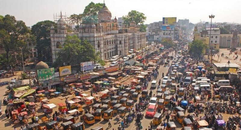 Hyderabad is the fourth most populous city and sixth most populous urban agglomeration in India. Photo by: Gazette Review