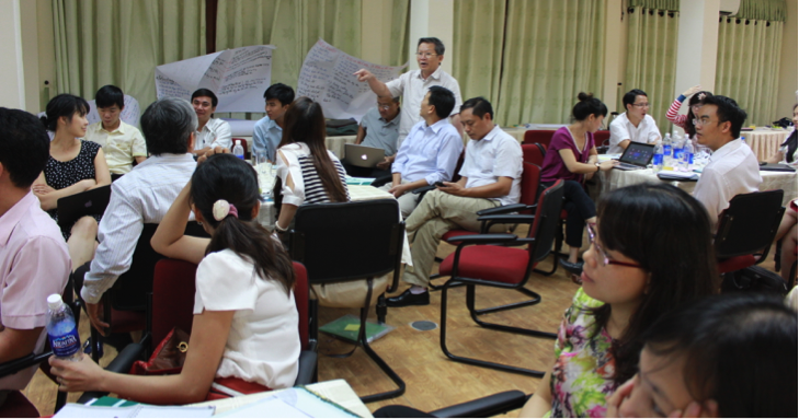 Training event organized by ISET for Can Tho, Da Nang and Binh Dinh CCCOs in 2013